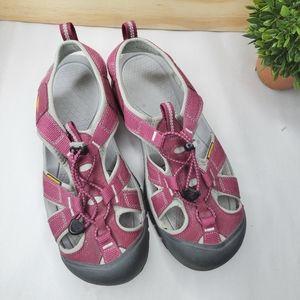 Keen Venice H2 women pink sandals sz 10